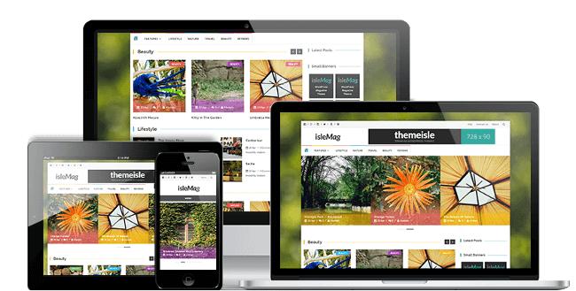 IsleMag Magazine WordPress Theme