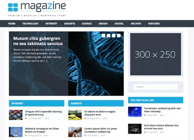 MH TechMagazine Free Magazine WordPress Theme