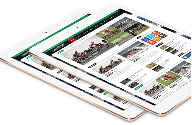 SportsMag Free Magazine WordPress Themes
