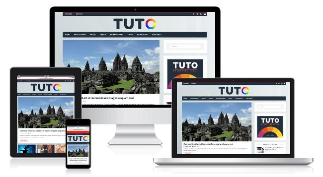 Tuto Free Magazine WordPress Themes