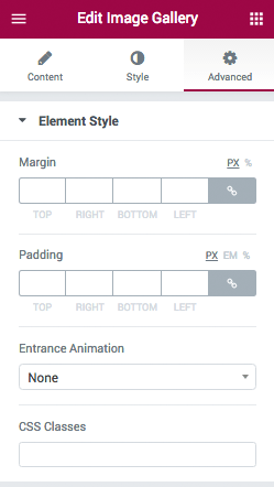 Element Style
