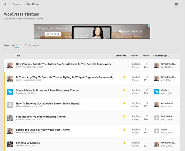 New Rise Forums Thread List