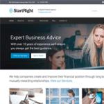StartRight – A Beautiful Free Business WordPress Theme