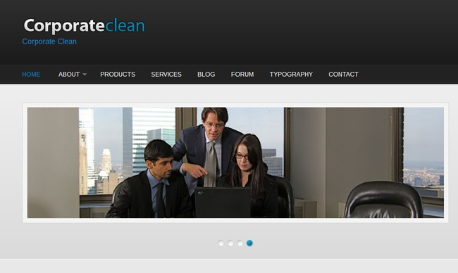 Corporate Clean Drupal Theme
