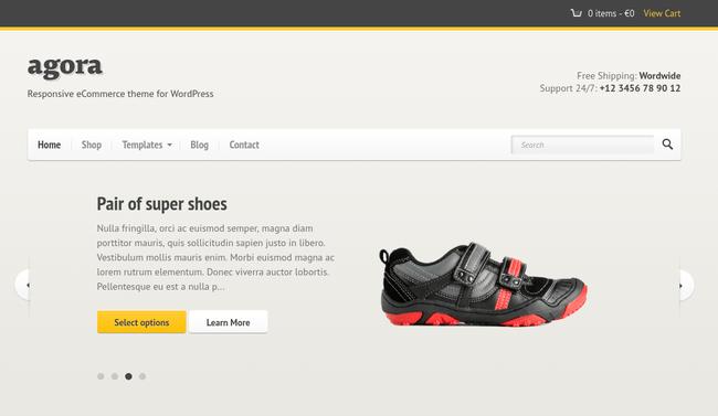 Agora WordPress Theme