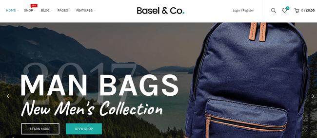 Basel WordPress Theme