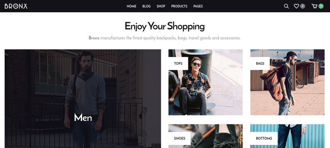 Bronx WordPress Theme