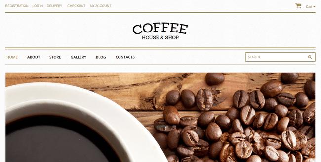 Coffee WordPress Theme