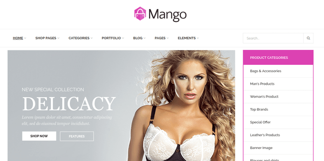 Mango WordPress Theme