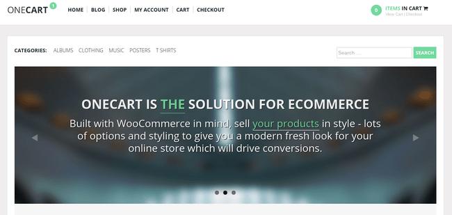 OneCart WordPress Theme
