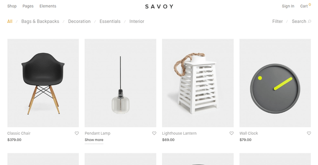 Savoy WordPress Theme