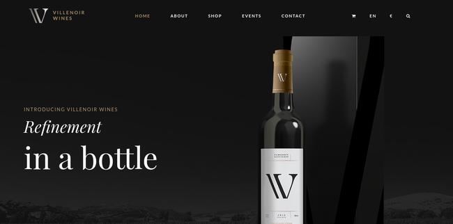 Villenoir WordPress Theme