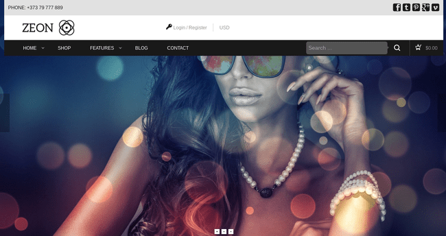 Zeon WordPress Theme