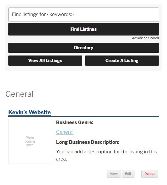 Simple Directory Index