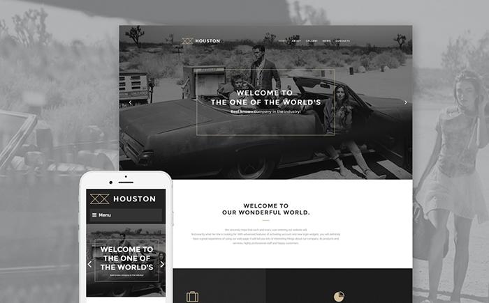 Houston – Business WordPress Template