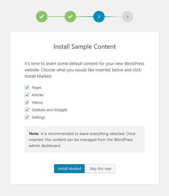 KnowAll Setup Step 3