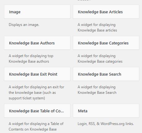 KnowAll Widgets