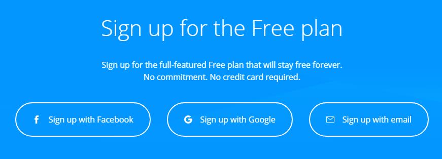 Sign Up Free to GetSiteControl