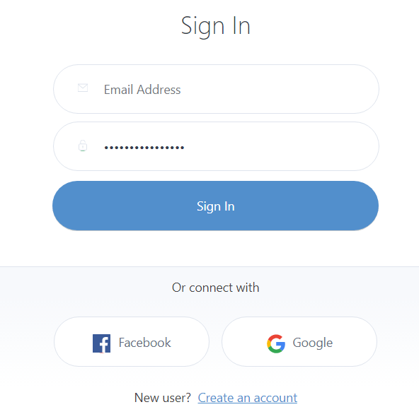 Sign In to GetSiteControl
