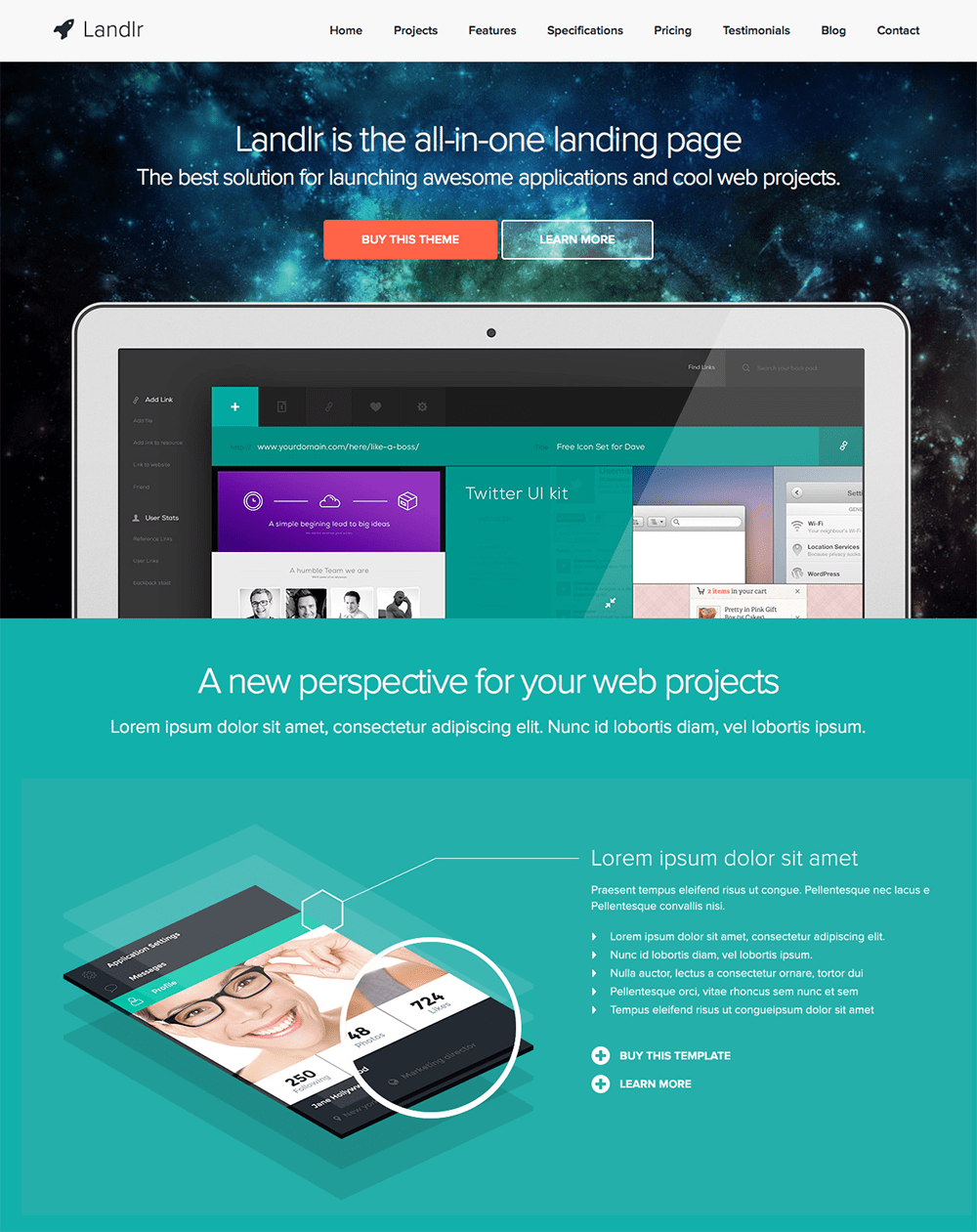 Landlr – The All-in-One Landing Page