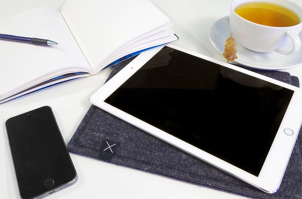 iPad on Table