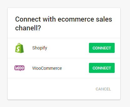 Connect Your Store