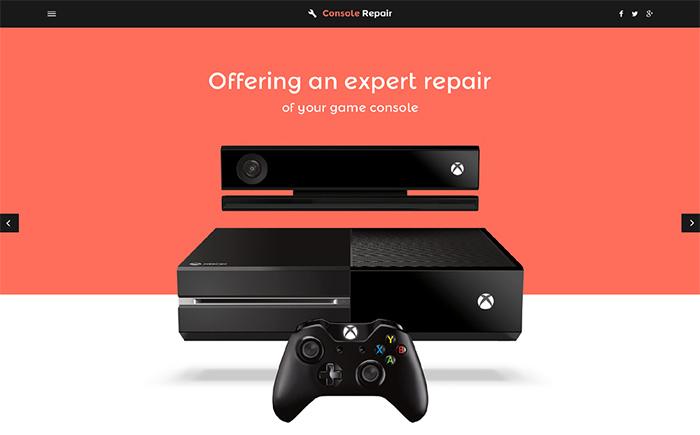 Video Games Website Template