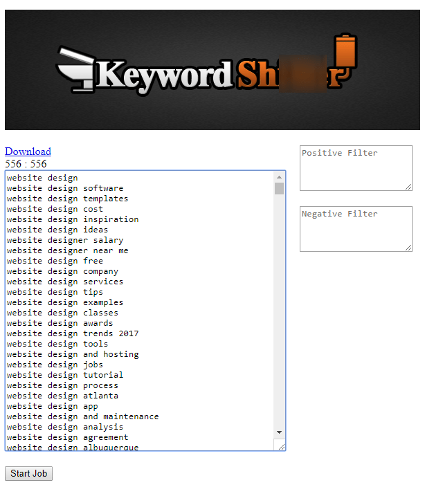 Keyword Sh****r