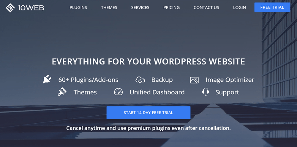 10Web WordPress Services