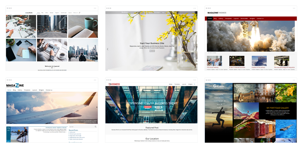 WordPress Theme List
