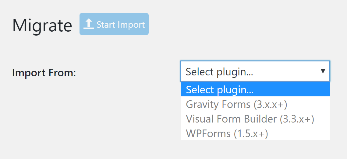 Migrate Your Form