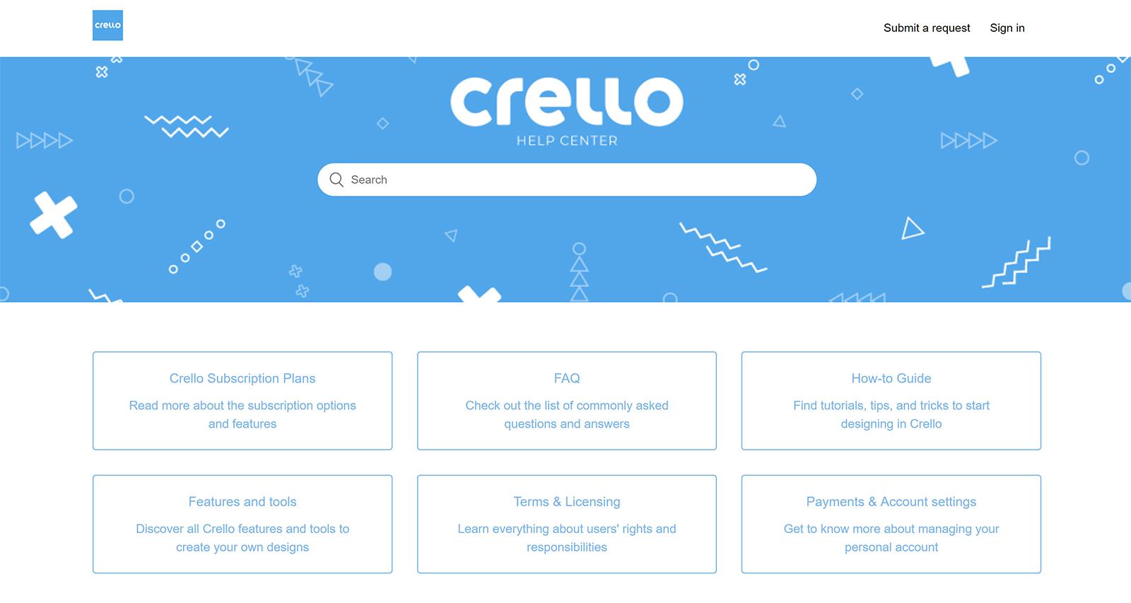 Crello Help Centre