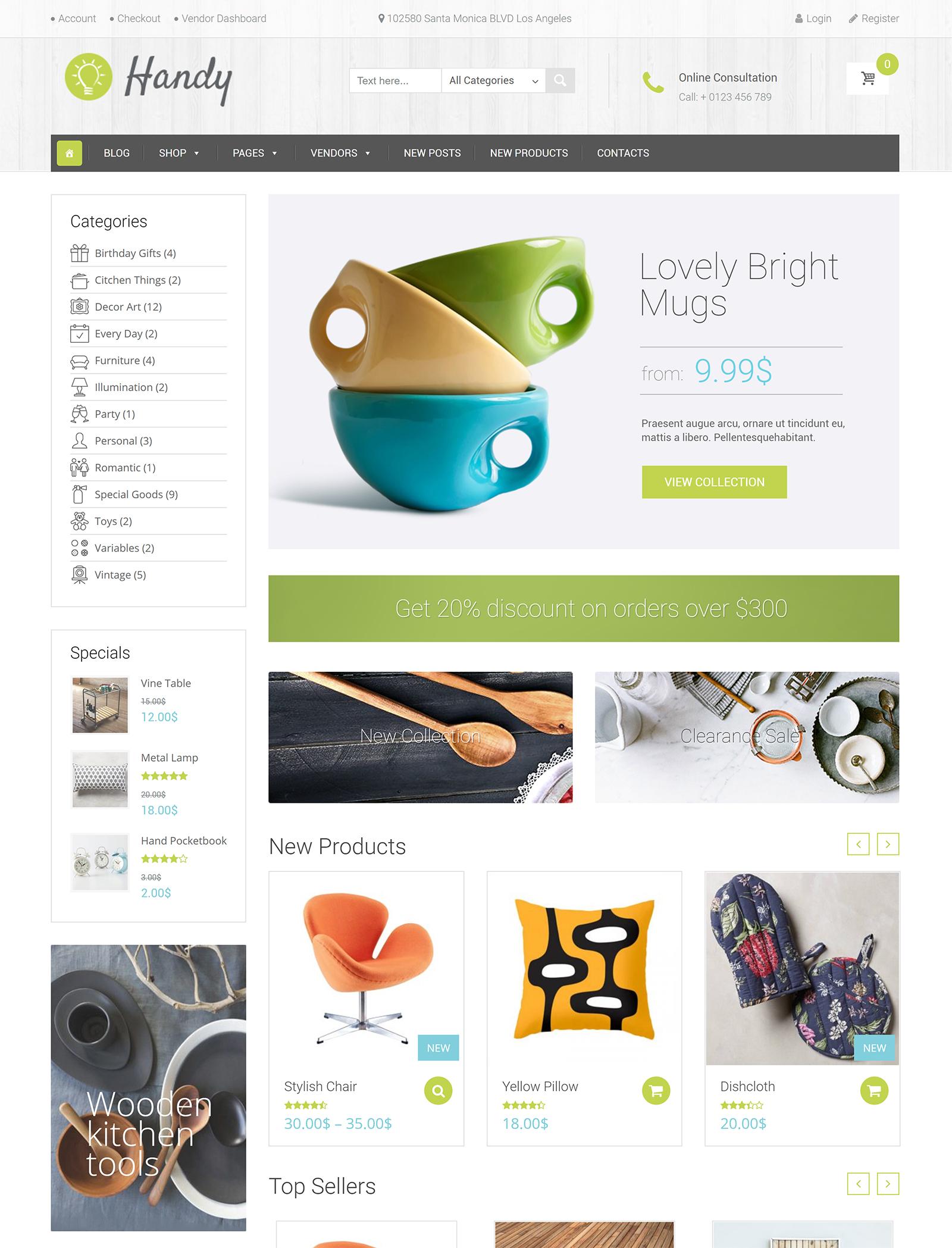 Handy WordPress Theme