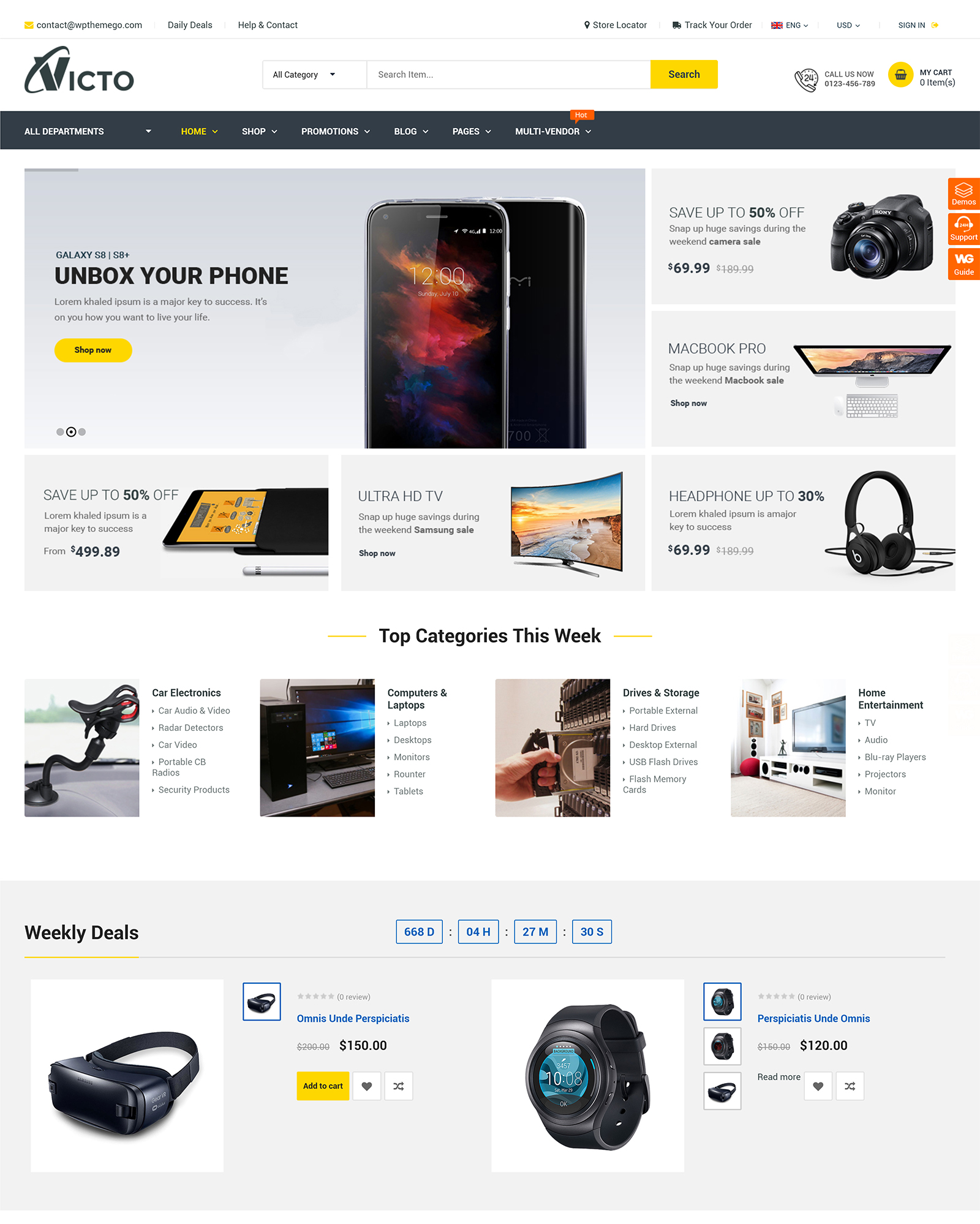Victo WordPress Theme