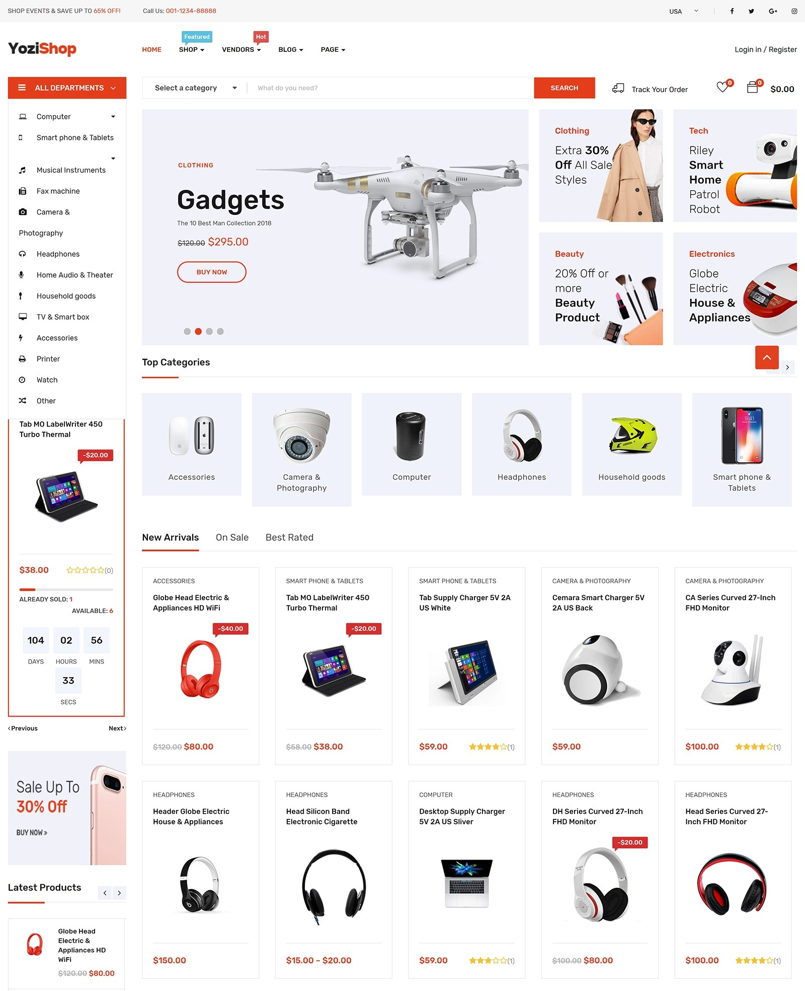 Yozi WordPress Theme