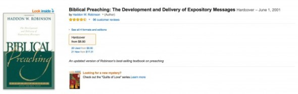 biblical preaching amazon