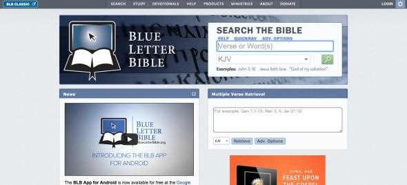 blue letter bible