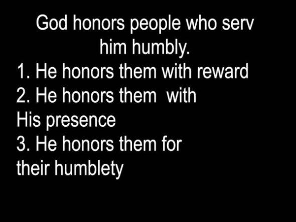 god-honors-humble-servants-text