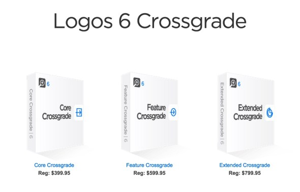 logos 6 crossgrade packages