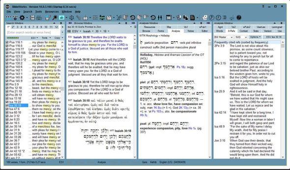 bibleworks 10 screenshot
