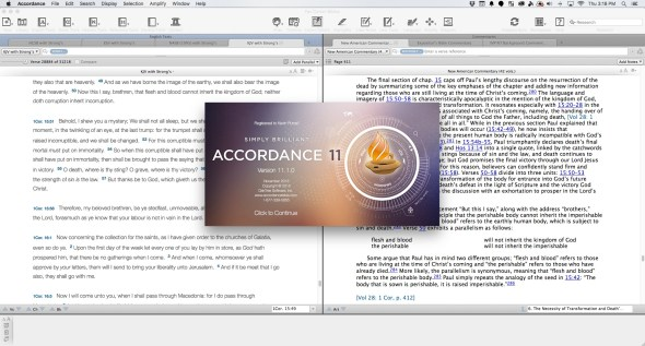 accordance 11.1 update