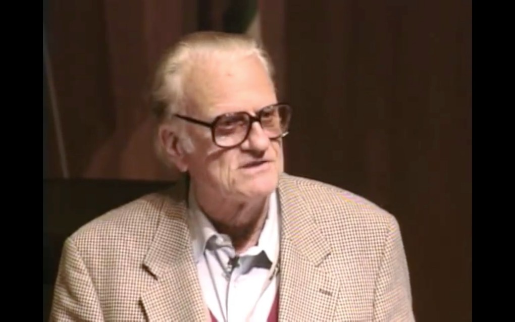 billy graham ted talk