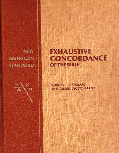nasb exhaustive concordance
