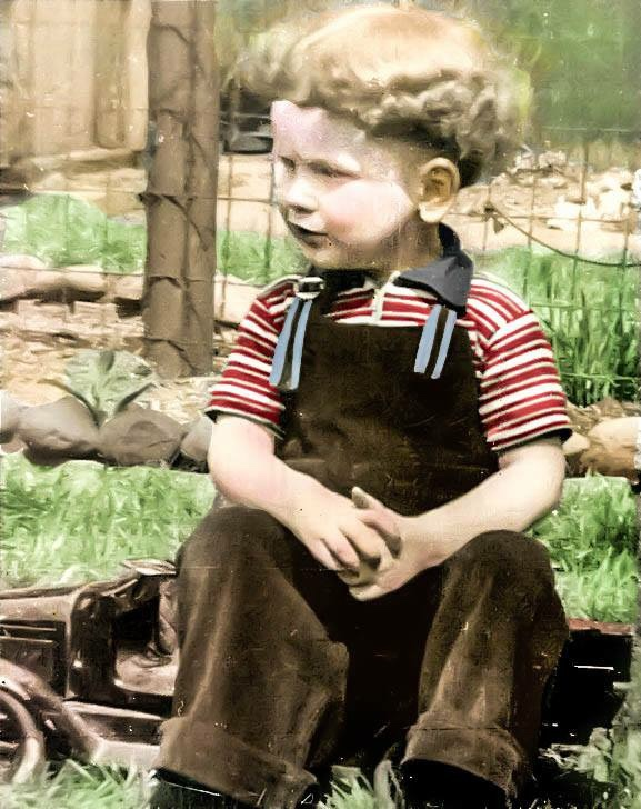 Dad as a child in Detroit in late 30s