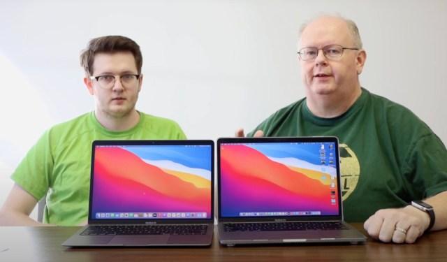 m1 macbooks screen comparison