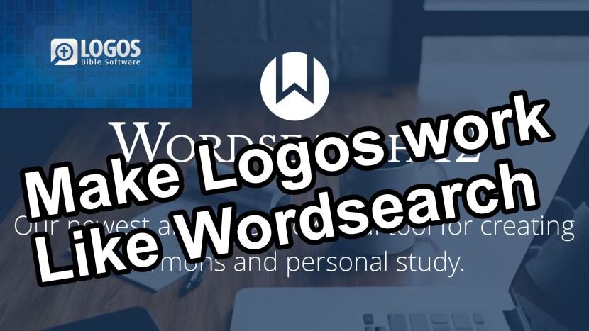 make logos work like wordsearch