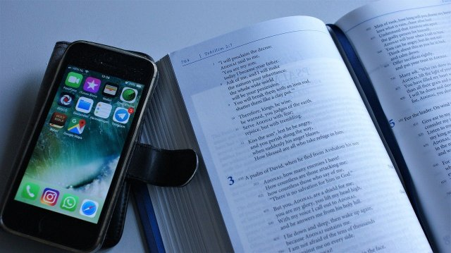 the bible and an iphone - creative digital sermon preparation