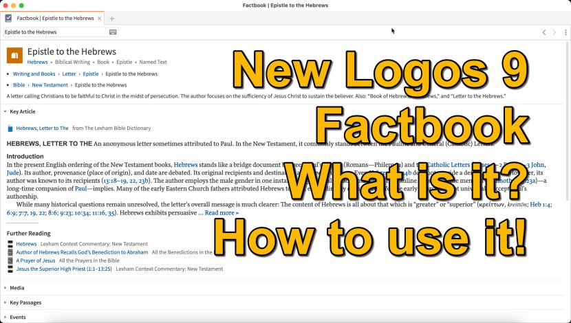 new logos 9 factbook
