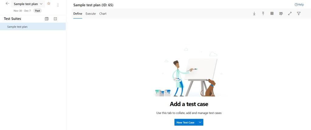 Add Test Case within Azure Test Plans