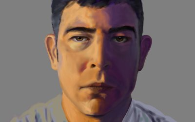 Digital Painting – Self Portrait